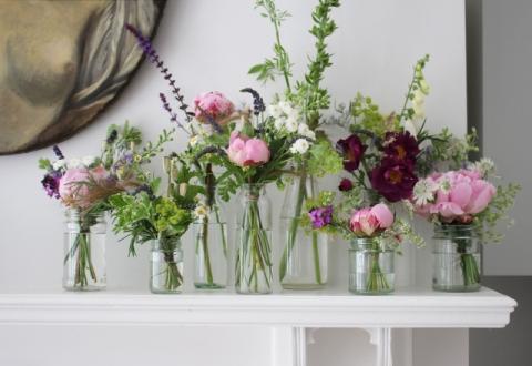 Jam jar posy's summer flower - Wild Rubus_edited-1